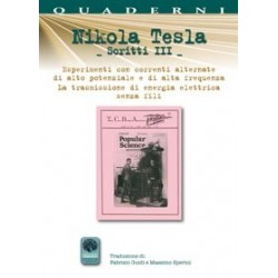 Nikola Tesla Scritti III